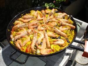 paella grill